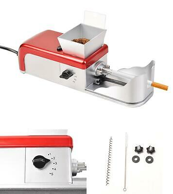 Cigarette Rolling Machine Electric Automatic Tobacco Roller Injector Maker NEW