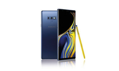Samsung Galaxy Note9 SM-N960U1 - 128GB - Ocean Blue (Factory Unlocked) Mint