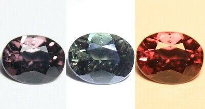 1.01ct Colour Change Garnet - Custom Cut Gem with Rare Superb Colour Change