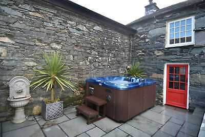 Christmas 2020 Romantic Cottage Four Poster Bed Hot Tub Lake District Cumbria