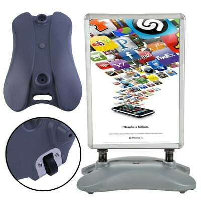 Outdoor A1 Double Sided Snap Frame Advertising Water Base Poster Stand Display