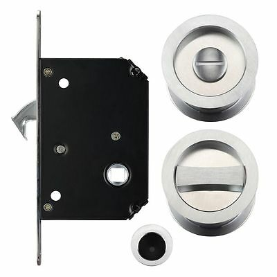 Sliding Door Lock Set Suitable for 35mm - 45mm Thick Doors Various Finishes