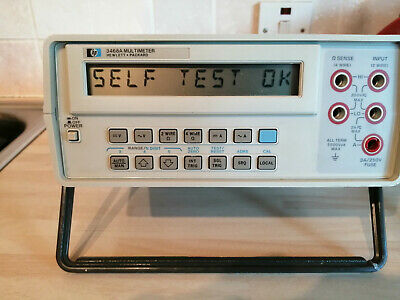 HP3468A 5.5 digit bench multimeter