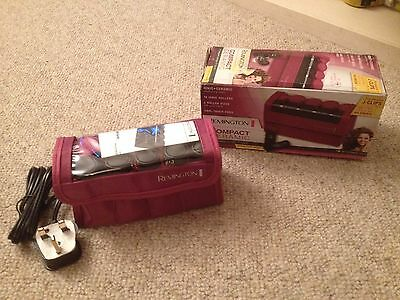 Remington Travel Rollers Ionic Ceramic Curls J Clips Worldwide Use Purple A