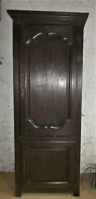 antique wardrobe, tall 19th c.French gentleman's armoire, hall cupboard,shelves