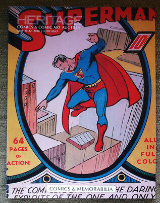 Heritage Auction Catalog Comics & Comic Art, Memorabilia May 2018