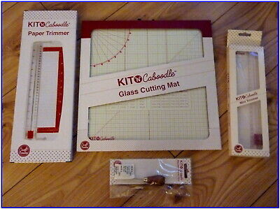 "12/"" Paper Trimmer Kit N Caboodle Craft Tools"