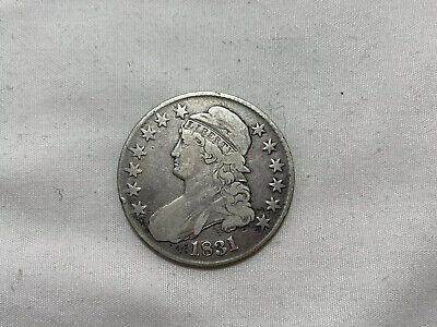 1831 50c Capped Bust Half Dollar VG ++ Very Good