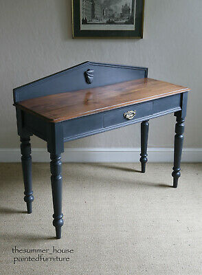 Stunning Antique Victorian Painted Mahogany Hall Console Dressing Side Table