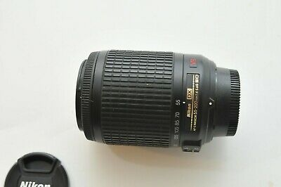 Nikon AF-S DX VR Zoom-NIKKOR 55-200mm f/4-5.6G IF-ED Lens for D7500 7100 500