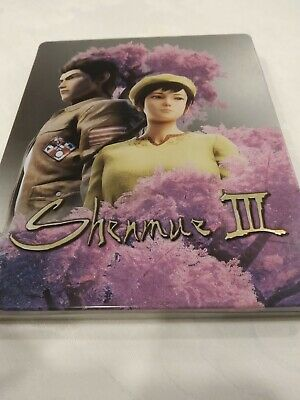 Steelbook Steelcase - Shenmue Iii 3 Ps4 - No Game Included