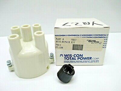 Wis-Con Yq27 Distributor Cap & Rotor Wisconsin Continental New Manufacturing