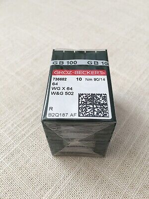 Willcox & Gibbs Sewing Machine Needles Pack of 100 Groz-Beckert Size 90/14