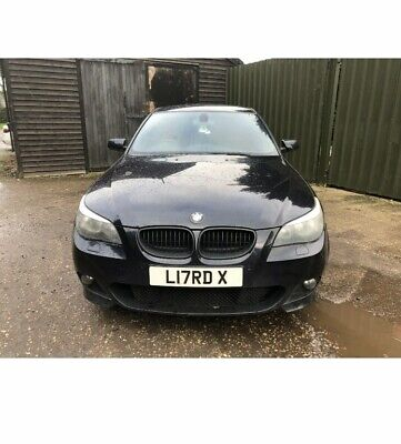 2005 BMW 5 SERIES E60 SALOON 530i M SPORT M5 REP RARE MANUAL LOUD QUAD EXHAUST