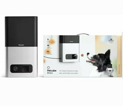 Brand New Sealed Petcube Bites Pet Camera with Treat Dispenser, With App store.