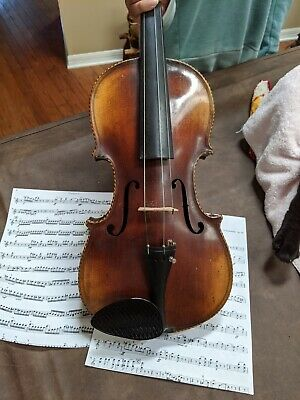 An Antique 1850'S Handmade Full Length Violin Excellent Sound And Color