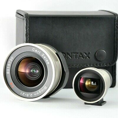 [Exc+++++] CONTAX G 21mm f/2.8 Carl Zeiss Biogon Lens for G1 G2 from JAPAN