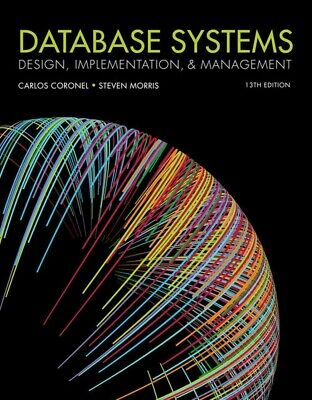 [PDF] Database Systems: Design Implementation and Management 13th Edition eBook