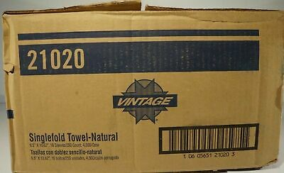 Single Fold Paper Towel 21020 From Vintage
