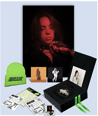 BILLIE EILISH SUPER DELUXE FAN BOX When We All Fall Asleep Where Do We Go? NEW!