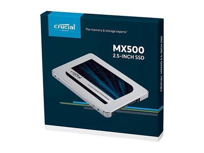 Crucial MX500 1TB 3D NAND SATA 6Gb/s 2.5 Inch Internal 7mm Solid State Drive