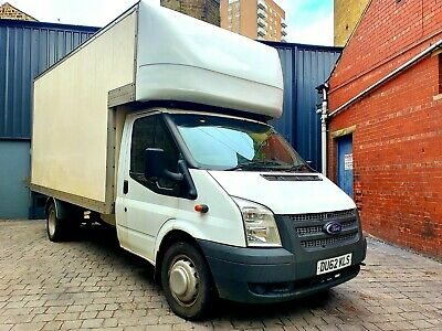 2012 Ford Transit Luton Box Van With Tail Lift 2.2 Taillift No Vat