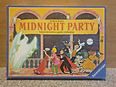 MIDNIGHT PARTY MITTERNACHTSPARTY BOARD GAME SPARE PARTS ONL RAVENSBURGER