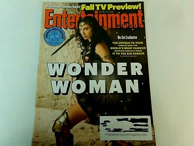 Entertainment Weekly Magazine 4 26 2017 Wonder Woman Gal Gadot