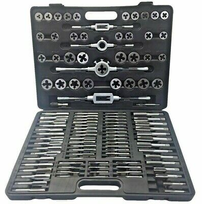 Welzh Werkzeug Tap And Die Set 110 Piece M2-M18 TUNGSTEN STEEL 1900-WW