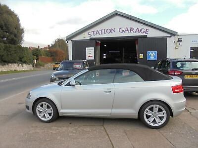 2009 Audi A3 CABRIOLET 1.9 TDI Sport 2dr Convertible Diesel Manual