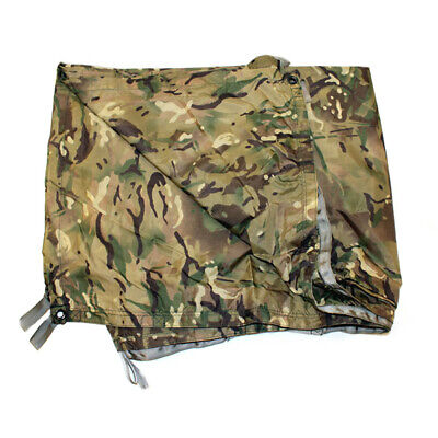 British Army Mtp Basha Sheet Shelter Poncho Waterproof Genuine Issue Brand New