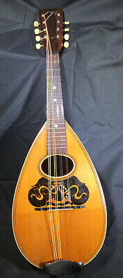 Beautiful Vintage American Conservatory Mandolin~From 1900-With Original Case!