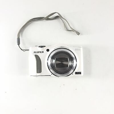 Fujifilm FinePix F Series F770EXR 16.0MP Digital Point and Shoot Camera White Re
