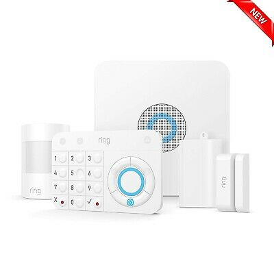 Ring Alarm Wireless Home Security System 5 Piece Surveillance Kit BRAND NEW