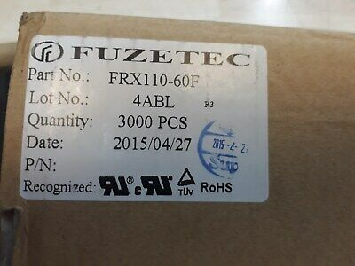 Lot x 3000 FRX 110-60F Radial Leaded PTC Resettable Fuse