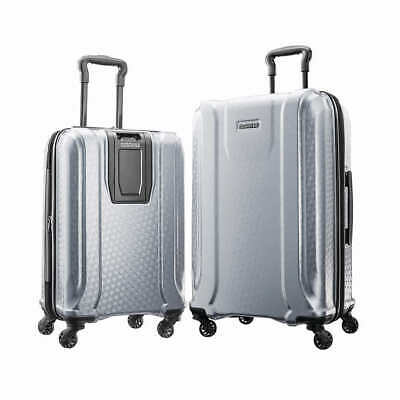 Samsonite At Fender 2Pc Hs Set Silver 1360296  Us Sizes