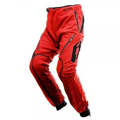 New Jitsie Omnia Trials Bike Riding Pants / Trousers. Red. Great Quality.
