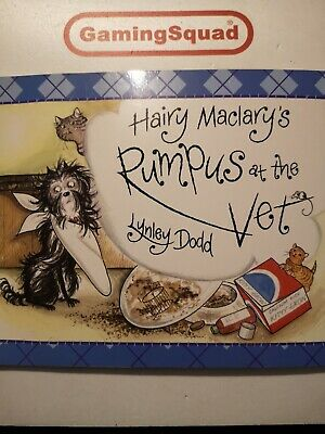 Hairy Maclarys, Rumpus at the Vets, Lynley Dodd Book, Supplied by Gaming Squad