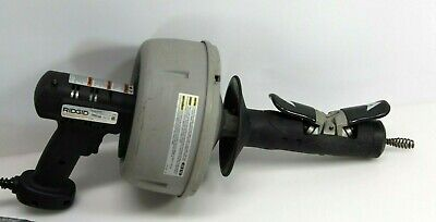 RIDGID Model K-39 Drain Cleaning Machine Excellent Free Shipping