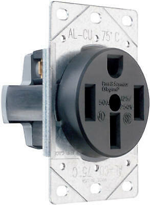 Flush Outlet 50A 125/250V 4W