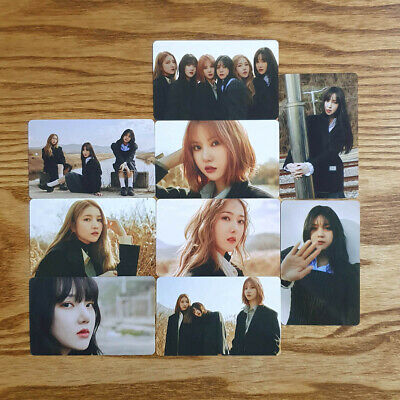 Pre-Order Benefit 9pcs Photocard Set Crossroads ver GFriend Mini Album Labyrinth
