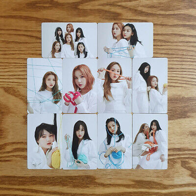 Pre-Order Benefit 9pcs Photocard Set Twisted ver GFriend Mini Album Labyrinth