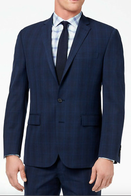 Ryan Seacrest Distinction Men's Ultimate Modern-Fit Stretch Suit 40 S Imperfect