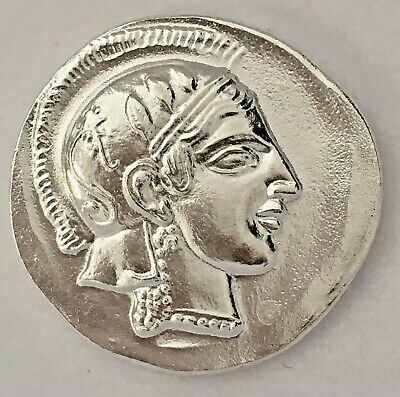 Ancient Athens Greece Athena Owl Tetradrachm Coin Copies