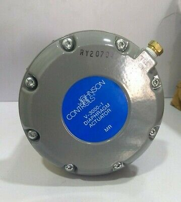"""Johnson Controls V-3000-1 Diaphragm Actuator with 5/8"""" Flare 3-Way Mixing Valve"""