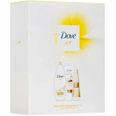 Dove Perfect Pampering Gift Set Scented Reed Diffuser 💥🎁🎄❤️🎄🎁💥