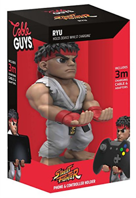 EXQUISITE GAMING-Cable Guy Collectable Device Holder - Ryu NUEVO