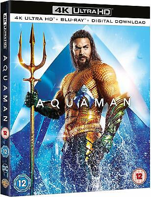 Aquaman Ultra HD 4K Blu-Ray