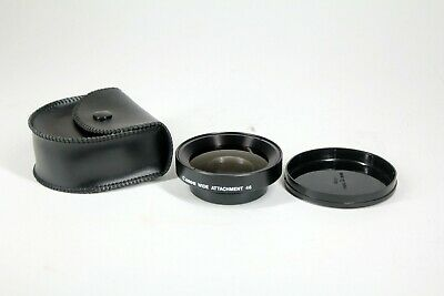 #L01 Canon Wide attachment 46mm in case for camcorders