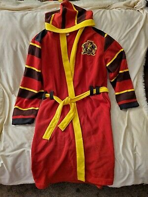 Harry Potter Gryffindor Hooded Bath Robe S  M Hoodie Quidditch 07 Cosplay